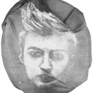 <p>[Self]-portrait<br />38x38 cm, lithography / 2011</p>
