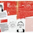 <p>Gazeta<br />każda strona 29,7x42 cm, druk cyfrowy / 2010-2011</p>