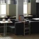<p>Ground floor, caf&eacute;<br />model at a scale of 1:20</p>