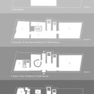 <p>Design for a map of all floors and rooms<br />A4, printed on paper</p>