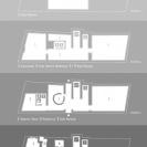 <p>Projekt mapki pięter z oznaczeniem poszczeg&oacute;lnych pomieszczeń<br />format A4, wydruk na papierze</p>