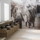 <p>I piętro, sala audio &ndash; stanowiska do słuchania muzyki<br />makieta, skala 1:20</p>