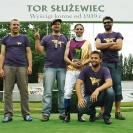 <p>Left to right, standing:<br />Szymon Chmielewski, Patryk Dudziński, Artur Dul,<br />Krzysztof Kaźmierczak, crouching Michał Zakrocki</p>