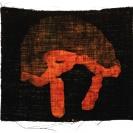 <p>Glory<br />33,5x40 cm, batik on linen / 2011</p>